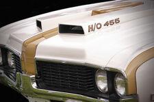 13x19 1969 Hurst Oldsmobile 442 H/O 455 Print Olds Firefrost Gold Cameo White