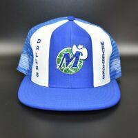 Dallas Mavericks AJD Lucky Stripes NBA Vintage 80's - 90's Snapback Cap Hat