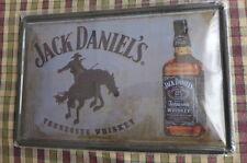 Jack Daniels Metal Sign Painted Poster Garage Superhero Wall Decor Art C*