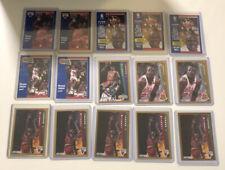 1991-92 & 1992-93 Michael Jordan Fleer 15-card Lot includes Drakes Promo Card #7