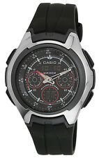 Casio Men's Auto-Illuminator World Time 100m Yacht Timer Resin Watch AQ163W-1B2