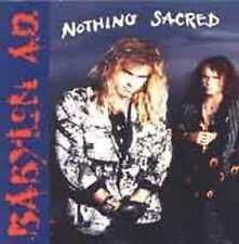 BABYLON AD-Nothing Sacred Jeff Scott Soto MHR/Glam CD