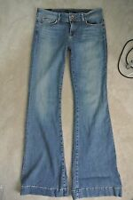 J BRAND - LOVE STORY Flare Rinsed Indigio Mid Rise Jeans sz 32 /12 USA NEW