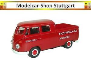 VW Pickup Porsche Service Course - Welly 1:3 8 - Neuf Usine