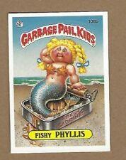 GARBAGE PAIL KIDS FISHY PHYLLIS CARD EX  FREE SHIPPING