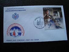 MONACO - enveloppe 1er jour 6/5/1998 (charles garnier) (cy63)