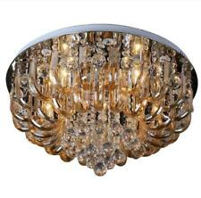 77381349 Luxury Round Living Dining Room Hall Ceiling Light Crystal Glass