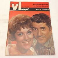 "Daniel Gelin Front Cover Vintage 1963 Danish Magazine ""Vi Unge/Film-Journalen"""