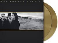 U2 Joshua Tree (5749844) 180g +MP3s LIMITED EDITION New Gold Colored Vinyl 2 LP