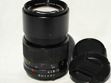 MINOLTA MD  135 mm f 3.5 LENS with caps  SN 1233634