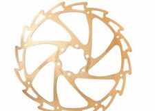 Discos de freno de oro para bicicletas