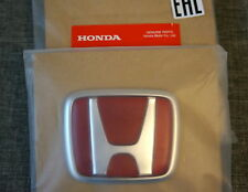 JDM Honda Civic EK Type-R Red Rear Badge Emblem OEM Genuine TypeR Type R