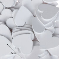 100pcs/set Wooden Heart Scrapbooking Art Collection DIY Sewing Home Decorations~