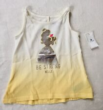 Baby Gap Disney Beauty And The Beast Belle Tank Top 18-24 Months New With Tags