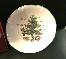 Nikko Happy Holidays Compote Footed Pedestal Dish Candy 6""