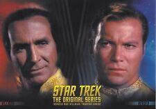 STAR TREK THE ORIGINAL SERIES  HEROES & VILLAINS Promo Card P1