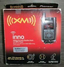 Pioneer Inno Xm2Go Gex-Inno2 Bk Portable Satellite Radio Mp3 + Accessories