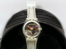 """Swatch 1993 Swatch Club - Limited Ed. GZ 124 """"Scribble"""""""