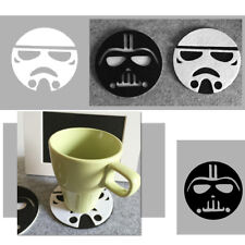 Anime Star Wars Round Cup Drinks Holder Coffee Felt Mat Placemat Pads Tableware