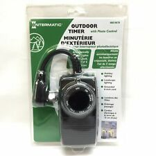 Intermatic Outdoor Timer with Photo Control HB51RC70