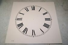 CLOCK DIAL NEW  WALL / MANTEL CLOCK PARTS 10 INCH IVORY COLOR DIAL
