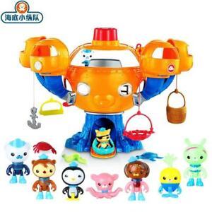 Octonauts Ocean Action Adventure Toy Figures Light Music Joy Octopus Castle Gift