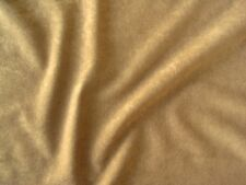 CAMEL ALOVA SUEDE CLOTH VELVET FABRIC $5.99/YARD