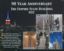 More details for grenada 2021 mnh architecture stamps empire state building nyc landmarks 5v m/s