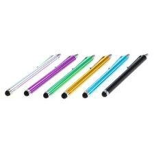 6 Stück Stylus Touch Pen Eingabestift mit Soft Tip-Spitze farbig für Touchscreen