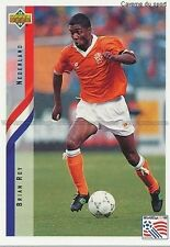 N°143 BRIAN ROY NETHERLANDS TRADING CARDS UPPER DECK WORLD CUP USA 1994