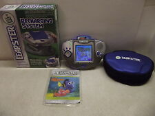 Leap Frog Leapster Learning Game System Finding Nemo Game Case Recharging System