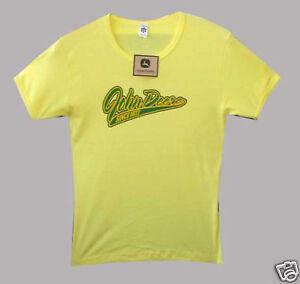 Neu Vintage Original John Deere Damen T-Shirt Größe XL -Limitiert-