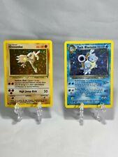 Pokemon TCG - Hitmonlee 13 & Dark Blastoise 4 - Legendary Collection - HP