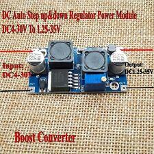 DC Auto Boost Step UP&Down Regulator Power 4-30V To 1.25-35V Adapt Solar Panels