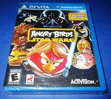 Angry Birds Star Wars Sony PlayStation Vita *Factory Sealed! *Free Shipping!
