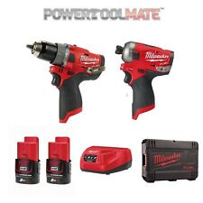 Milwaukee M12FPP2AQ-202X 12V Fuel Surge Powerpack (FPD/FQID/2 Batteries/Charger)
