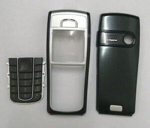 New Housing Cover Case For Nokia 6230 With Keyboard Keypad Black