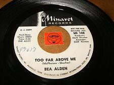 BEA ALDEN - TOO FAR ABOVE ME - SHINE ON LITTLE STAR - LISTEN - TEEN GIRL POPCORN