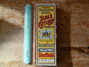 Vintage Harrison Fisher & Co Trafalgar Works, Sheffield, Set of 6 Knives