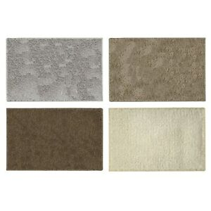 ASPEN BATHROOM RUG LUXURY GLITTER SHINING LUREX DECORATIVE SOFT BATH MAT 20x30