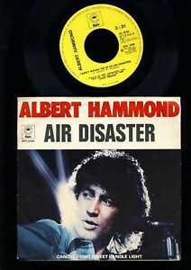 Albert Hammond - Air Disaster - Candle Light, Sweet Candle Light  7 Inch HOLLAND