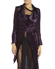 NEW Ann Demeulemeester Viscose Silk Velvet $1704 Coat
