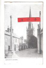 Ashfordby War Memorial & Church Melton Mowbray Duplex 1905