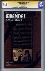 GRENDEL DEVIL CHILD #2 CGC 9.8 SS TIM SALE