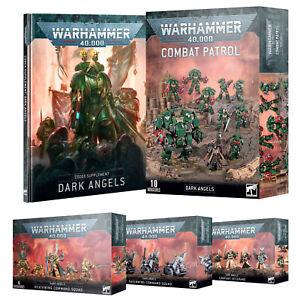 Dark Angels Space Marines Warhammer 40k Primaris & Firstborn Kits New & Sealed