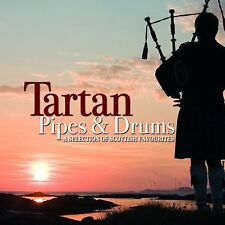 Tartan Pipes and Drums a Selection of Scottish Favourites CD Scotch On The Rocks