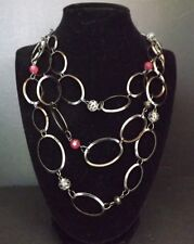 3-Layer Necklace Chain and Beads