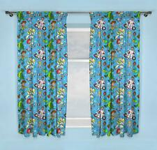 """Toy Story 4 Rescue 66"""" x 72"""" Drop Readymade Curtains Matches Bedding"""