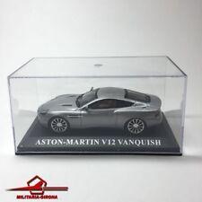 ASTON-MARTIN V12 VANQUISH GREY - IXO/ALTAYA 1.43 SCALE w/ BOX