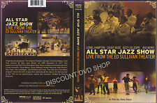 All Star Jazz Show - Live From The Ed Sullivan Theatre (DVD, 2011)